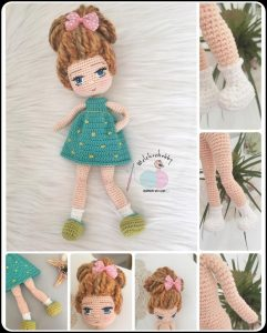 Adorable Mia's Watermelon Dress Crochet Pattern (Just Clothes) By ... | 300x241