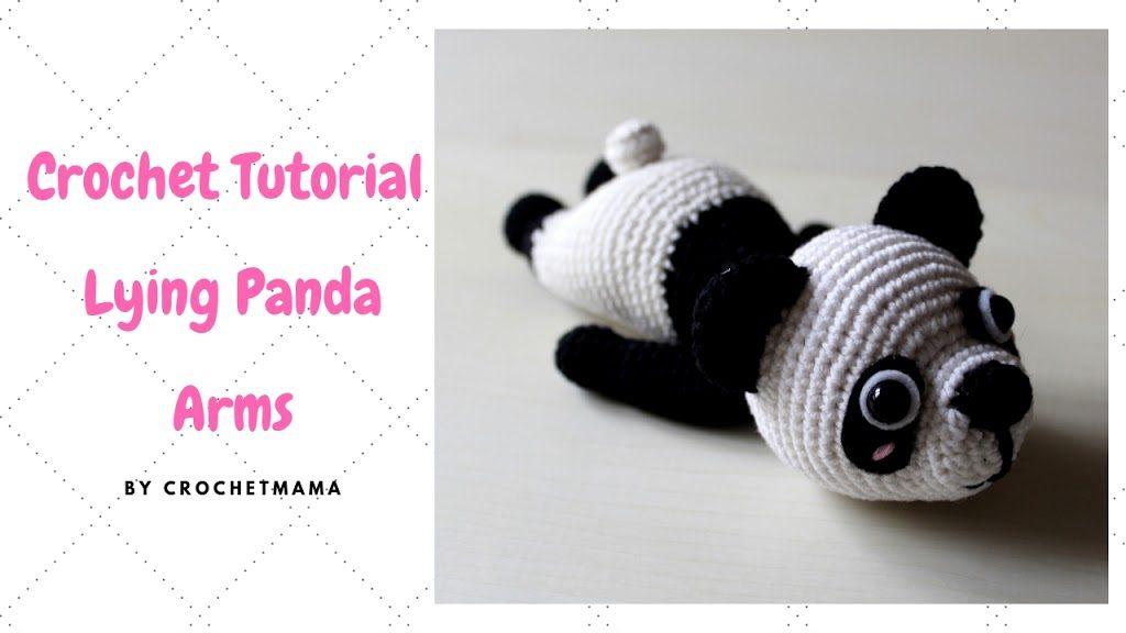Sweet panda amigurumi pattern | Amiguroom Toys | 576x1024