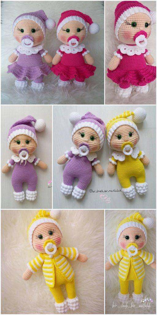Amigurumi To Go!: Crochet Baby Doll Free Pattern   Crochet dolls ...   1024x512