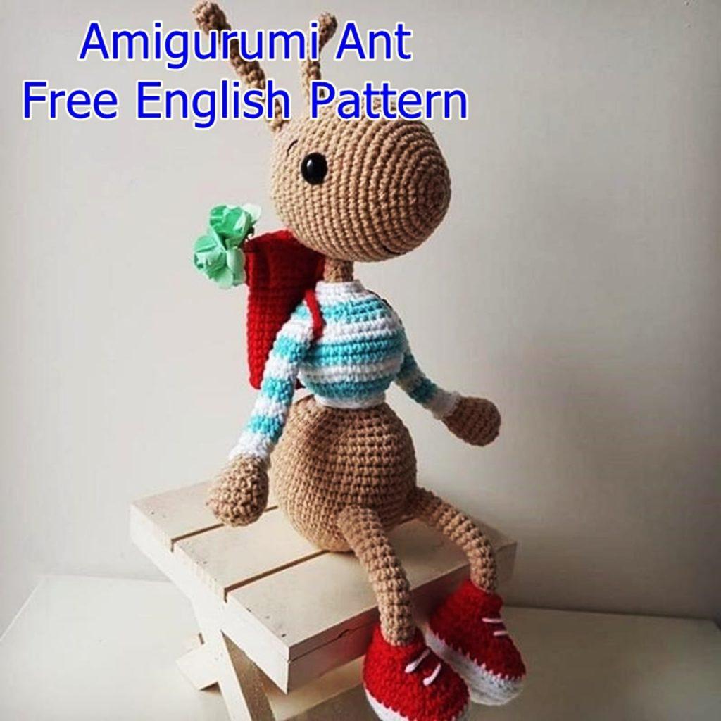 Amigurumi Ant Free Crochet Pattern - Crochet msa plus
