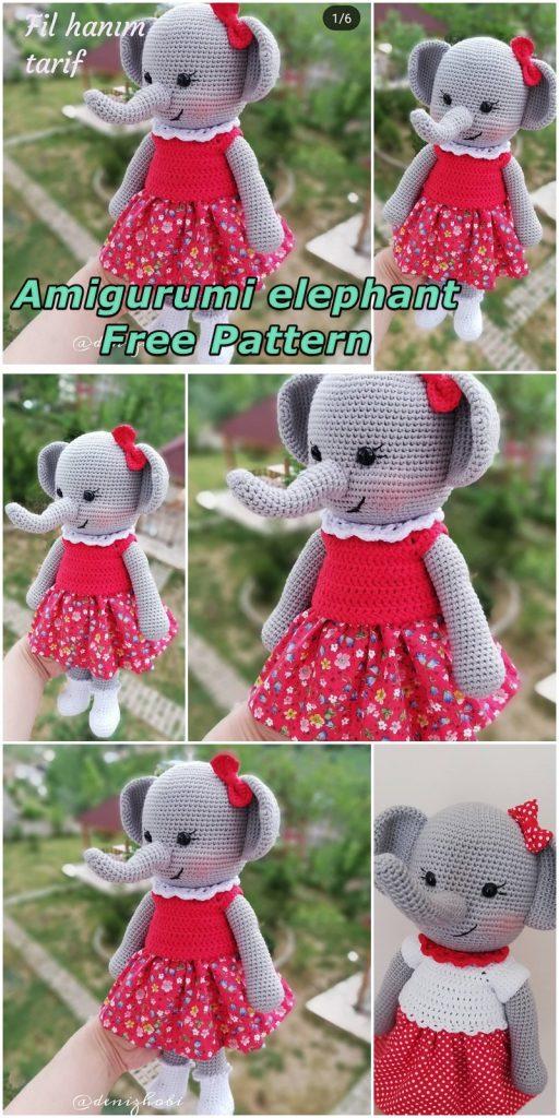 Patron Gratuit - Eléphant d'Halloween en Costume Modèle au Crochet ... | 1024x512
