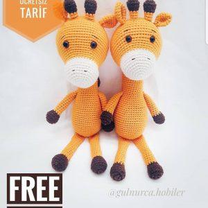 Crochet Amigurumi Giraffe – Graceful Gemma | 300x300