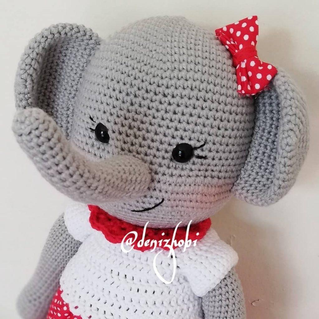 Crochet a Flat Elephant Toy Pattern (perfect fo...   1024x1024