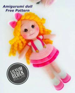 Amigurumi Doll Pacifier Baby Free Crochet Pattern - Crochet.msa.plus -  YouTube | 300x240