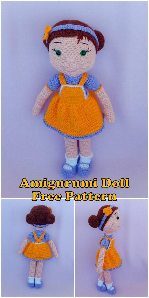 Amigurumi Cute Doll | Patron muñeca amigurumi, Muñeca amigurumi ... | 1024x512