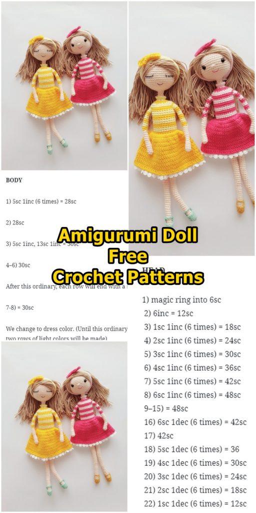 Amigurumi Doll Zeynep Free Crochet Pattern - Amigurumi Free Patterns | 1024x512