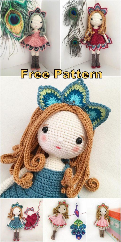 Lady cat amigurumi pattern | Crochet cat pattern, Knitting ... | 1024x512