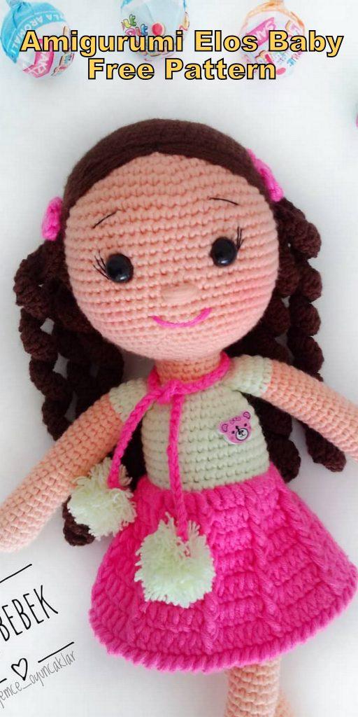 Amigurumi Crochet Elos Baby Doll Free English Pattern