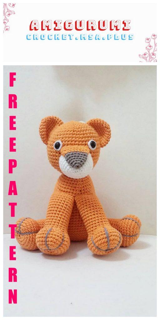 Crochet Lion Amigurumi – Free Pattern - DIY 4 EVER | 1024x512