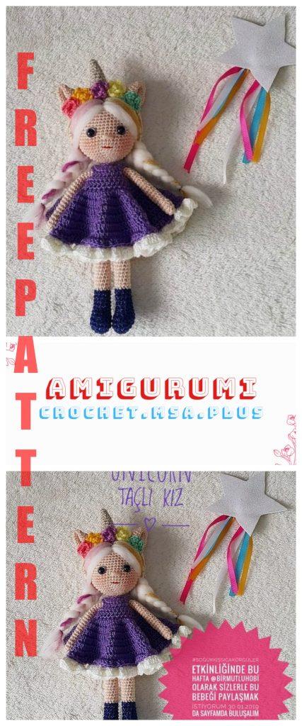 Sofia, a unicórnio vaidosa - Entretantos Crochet | 1024x427