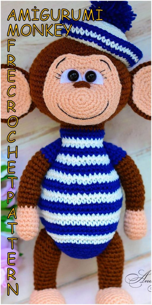 Wild Life XXL - Monkey Charly - Crochet pattern   1024x512